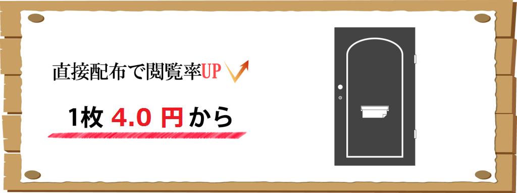 ドア 4.0円